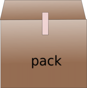 We offer several packing plans you can choose from