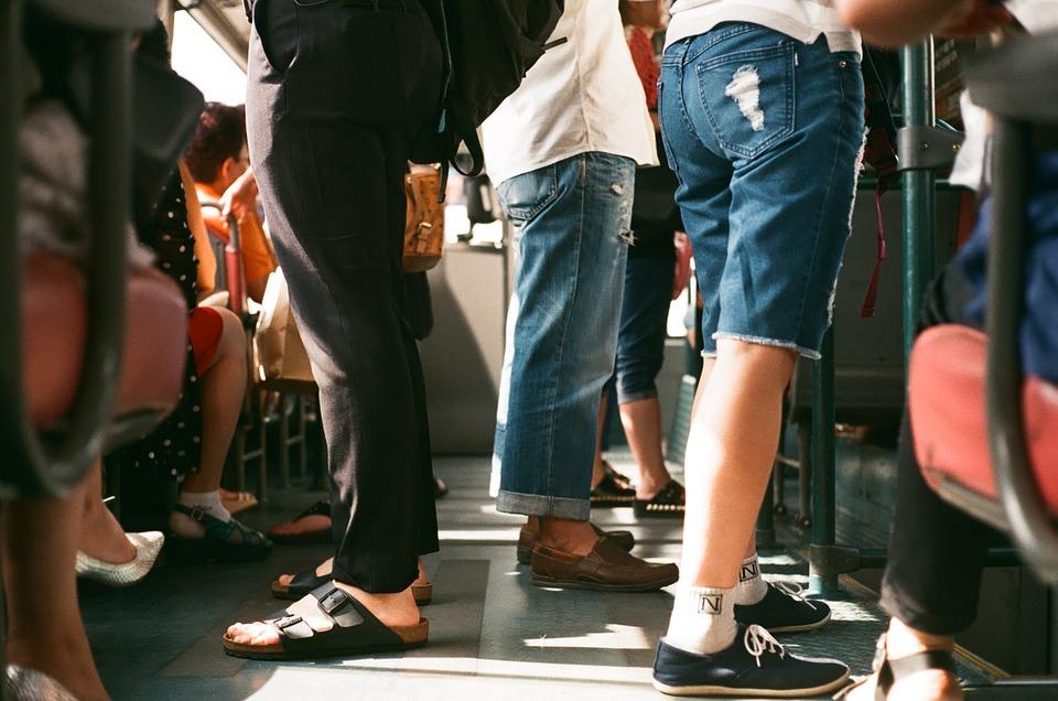 passengers public transportation New York