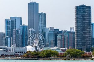 In Chicago you can enjoy in climate and nightlife