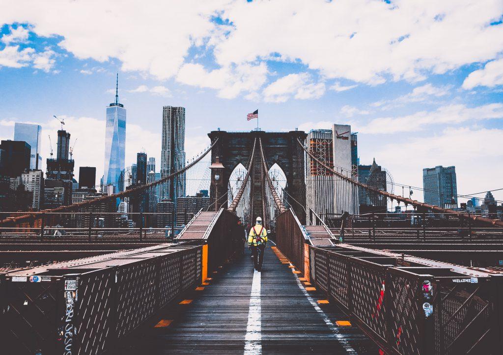 Brooklyn is just a bridge away from Manhattan.
