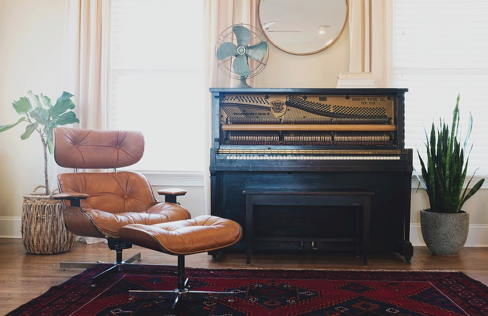 Moving your piano should, again, be handled by professional services.