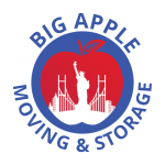 The Big Apple Moving Logo