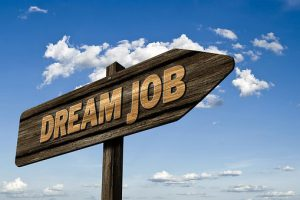 Dream job is waiting for you in NYC - just be persistent