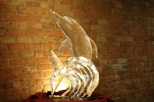 The sculpture of glass is the piece of art you should move with professional help