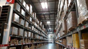 Inside indoor types of storage.