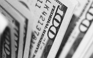 Several 100-dollar bills