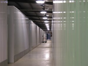 the inside view of affordable storage units