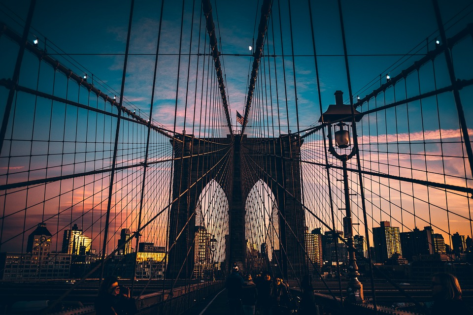 Brooklyn bridge - moving from Europe to Brooklyn