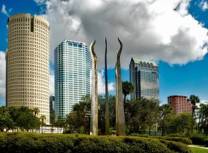 buildings in Tampa- one of the best cities for ex-New Yorkers