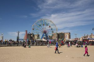 Coney Island - moving from Europe to Brooklyn