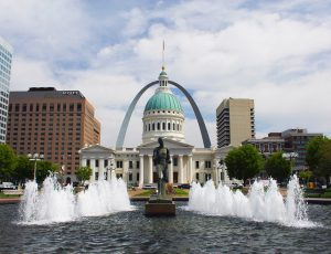 The City Hall in St.Louis which is one of the most affordable cities in the USA