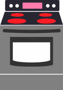 An image of a stove