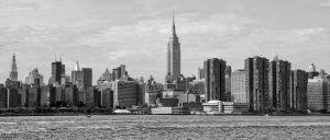 New York skyline - live in New York