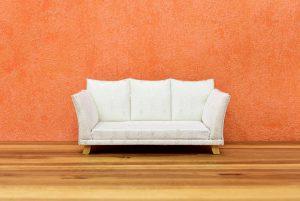 white sofa - moving heavy items