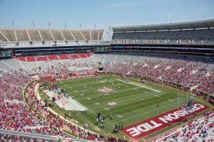 football field Alabama