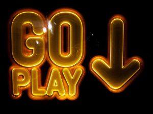 go play sign