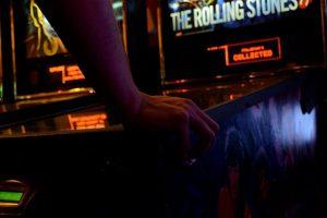 an arcade game