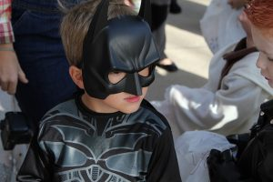 Kids have the best costumes for a Halloween in the Big Apple.