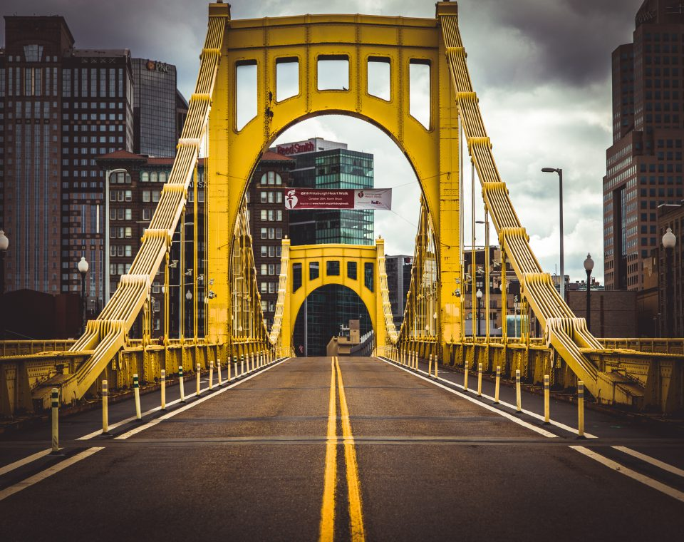 A bridge in Pittsburgh