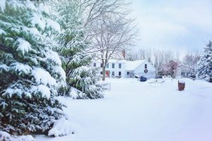 Winter-proofing your home - a house in the snow