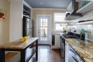 household cleaning tips - a kitchen