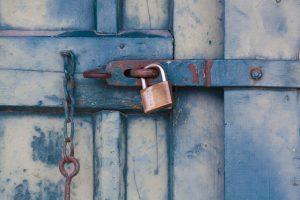 long-term storage guidelines - blue doors