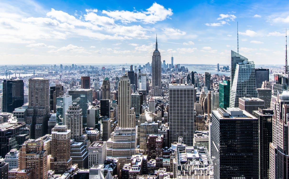 skyline view of NYC