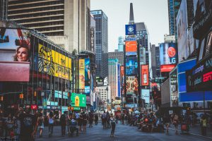 must-see NYC spots Times square