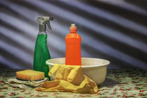 Keeping your home clean during relocation - cleaning materials