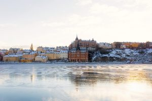 Lake in Stockholm, Sweden top countries for expats