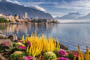 lake in Switzerland