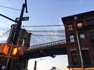 A view of a Brooklyn bridge