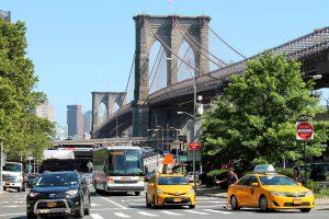 Brooklyn street with traffic