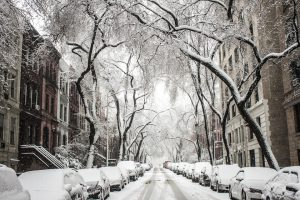 make moving to NYC enjoyable with snow covered streets