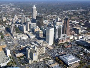 View of Charlotte when moving from NY to NC