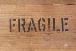 Properly packed fragile items when moving from Manhattan to Jersey City