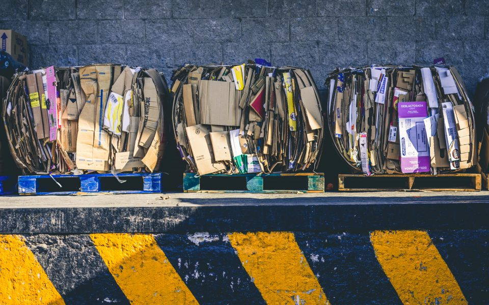 Cardboard junk