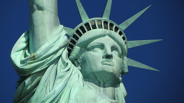 The statue of liberty as the first thing you will see when moving to NY from Canada