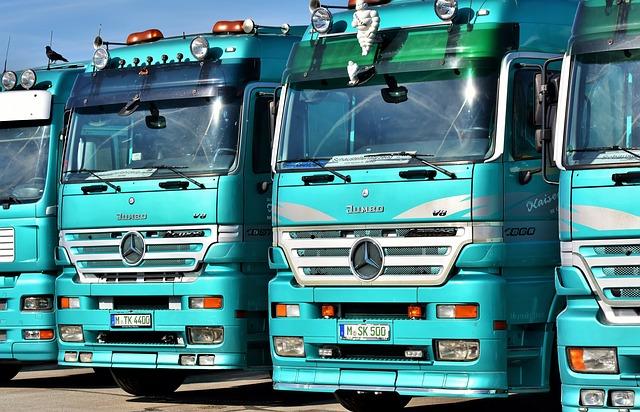 Moving truck fleet