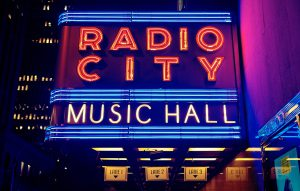 Thanksgiving weekend in NYC - Radio City Hall
