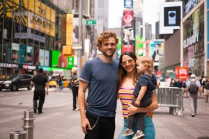 family in NYC