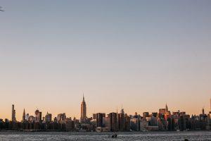 panorama of NYC