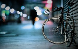 A bike, riding a bike is one o fthe best ways to commute in NYC