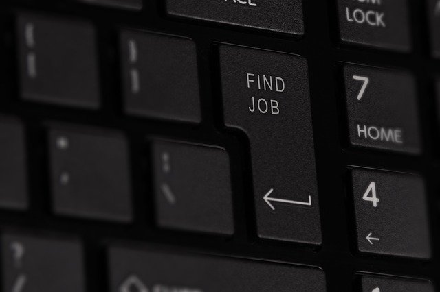 finding a job in NYC - keyboard